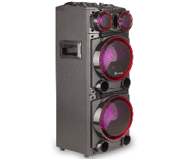 Altavoz bluetooth NGS Roller glow black c/ micro, USB, ranura SD y jack auxiliar - Imagen 1